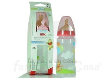 NUK BIBERÓN DISNEY PP 1 LÁTEX 300 ML