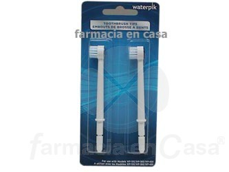 WATERPIK RECAMBIO IRRIGADOR WP-100-360-450 CEPILLO 2 UDS