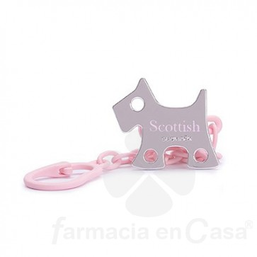 SUAVINEX BROCHE JEWEL SCOTTISH PERRO ROSA +0M