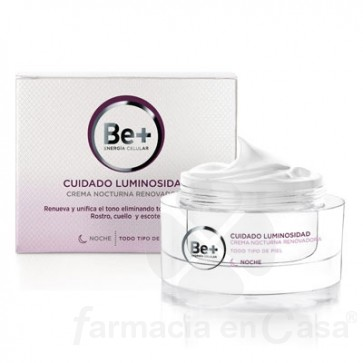 BE+ LUMINOSIDAD CREMA FACIAL NOCHE RENOVADORA 50ML
