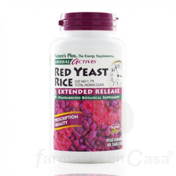 NATURE PLUS RED YEAST 600MG ANTIOXIDANTE 30 COMPRIMIDOS