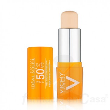 VICHY IDEAL SOLEIL 50+ STICK ZONAS SENSIBLES 9GR