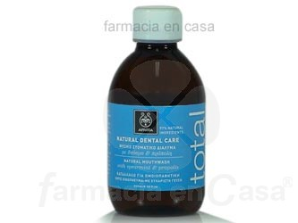 APIVITA DENTAL NATURAL CARE ENJUAGE BUCAL 250ML