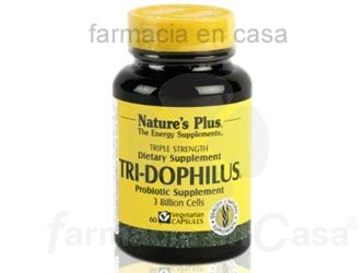 NATURE PLUS TRI-DOPHILUS ALTERACIONES INTESTINALES 60CAPS