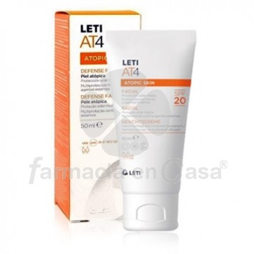 Leti At4 facial spf 20 50 ml