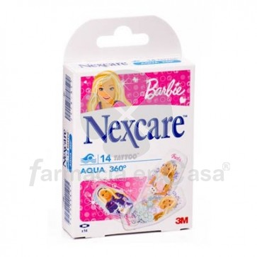 Nexcare Barbie 14 uds