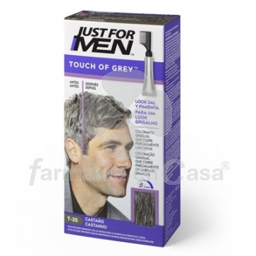 Just for Men Touch of Grey Castaño 40gr