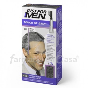 Just for Men Touch of Grey Castaño Oscuro Moreno 40gr
