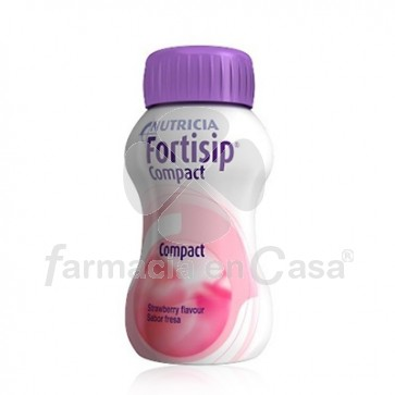 Fortisip Compact Fresa 24x125ml