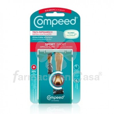 Compeed Sport Ampollas Para Talones T/M 5 Uds
