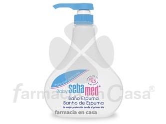 Sebamed Baby baño-espuma 500 ml
