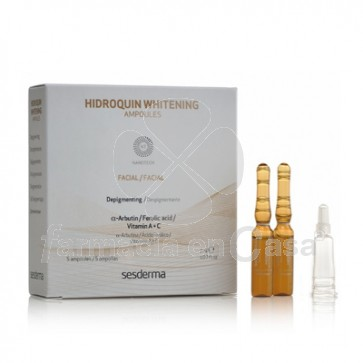 Sesderma Hidroquin whitening ampollas 5 uds