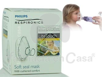 Optichamber respironics mascarilla pediatrica 1-5 años