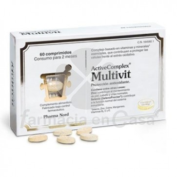 Pharma Nord Activecomplex Multivit 60 Capsulas