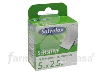Salvelox Esparadrapo sensitive 5 x 2.5