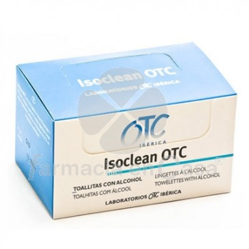 Isoclean Toallitas Alcohol 50 uds