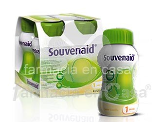 Souvenaid fresa 4 botellas x 125ml