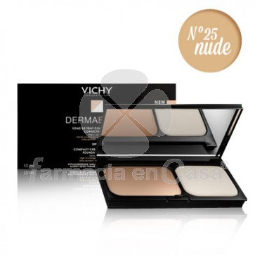 Vichy Dermablend maquillaje compacto spf 30 n25 nude 9,5gr