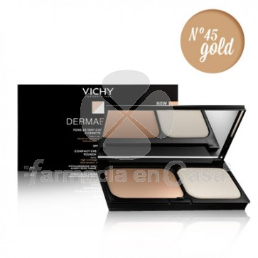 Vichy Dermablend maquillaje compacto spf 30 n45 gold 9,5gr