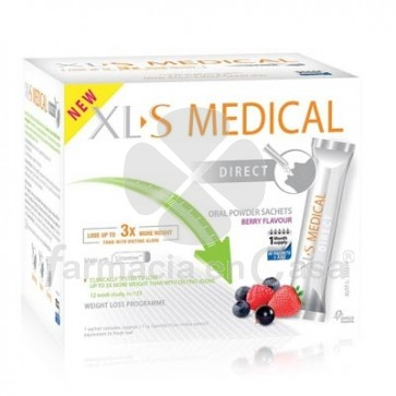 XLS Medical captagrasas direct sticks 90 uds