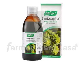 Bioforce Santasapina jarabe 200 ml.
