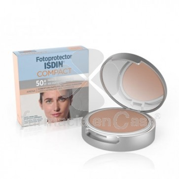 Isdin Fotoprotector compact spf 50+ maquillaje t-arena 10gr