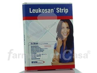 Leukosan strips 6mmx38mm 2x6 tiras