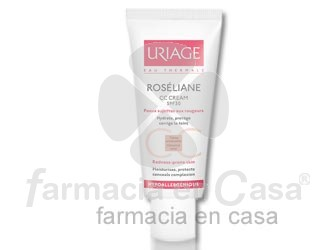 Uriage Roseliane cc cr. hidrat. antirojeces color spf 30 40ml