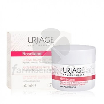 Uriage Roseliane crema rica antirojeces piel sensible 50ml