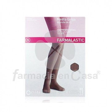 Farmalastic Media larga (a-f) comp normal blonda camel t-pe