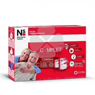 Nutritional System Complet Solutions Colesterol 60 Comprimidos
