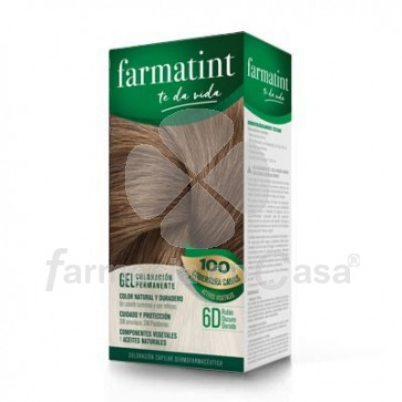Farmatint 6d rubio oscuro dorado gel 150ml