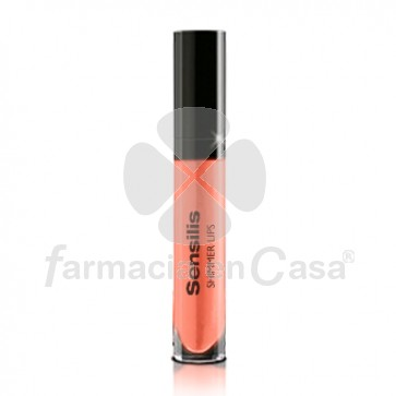 Sensilis Shimmer lips gloss confort 07 fresa 6,5ml