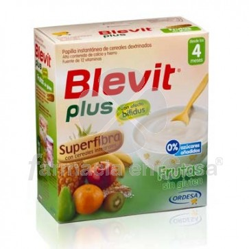 Blevit Plus Superfibra Frutas 700gr