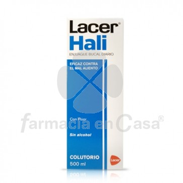 Lacer Hali enjuague bucal diario fluor 500ml