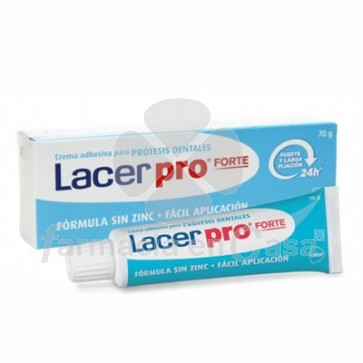 Lacer Pro Forte Crema Adhesiva Protesis Dentales 70gr