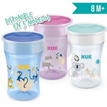 Nuk Magic Cup Vaso de Aprendizaje 8m+ 230ml