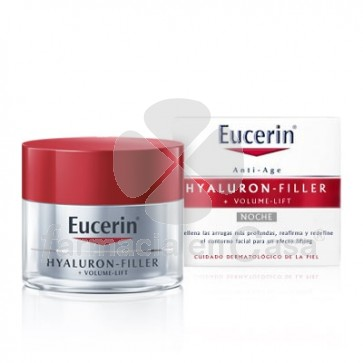 Eucerin Hyaluron filler+volume-lift crema noche antiedad 50ml