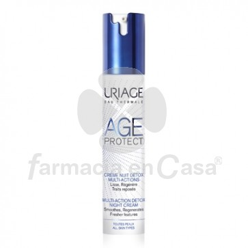 Uriage Age protect crema de noche detox multifuncion 40ml
