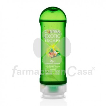 Control Exotic escape 2 en 1 gel de masaje hidratante 200ml