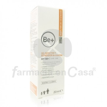 Be+ Gel Reductor y Reparador de Cicatrices Spf50+ 20ml