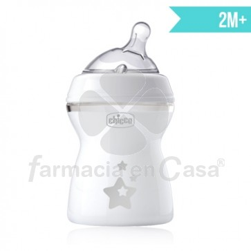 Chicco My little star biberón tetina silicona 2m+ 250ml