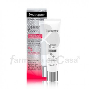Neutrogena Cellular Boost Contorno de Ojos Antiarrugas 15ml