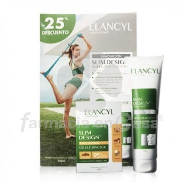 Elancyl Slim Design Reductor 60 Capsulas + Gel Reafirmante 150ml