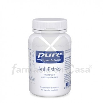 Pure Encapsulations Anti-Estres 60 Capsulas Vegetales