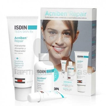 Acniben Repair Gel-Crema Hidrat 40ml +Limpiador 15ml +Balsamo 2ml