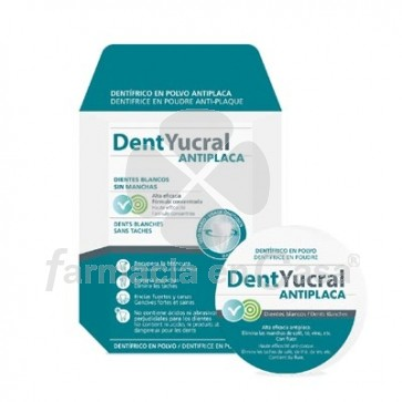 Dentyucral Antiplaca Polvo Dental 60gr