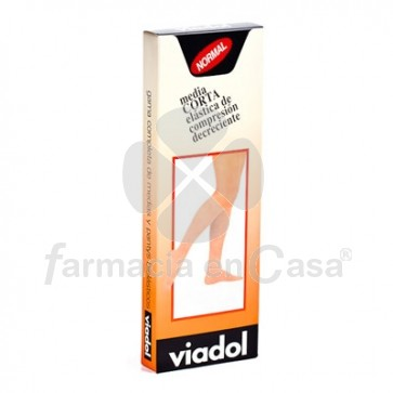 Viadol Media Corta Normal T/Extra Gde.Ud