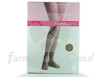 Farmalastic Media larga blonda a-f beige comp normal 22-29mm