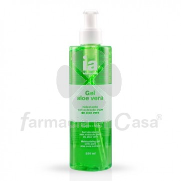 Interapothek Gel aloe vera puro hidratante 250ml